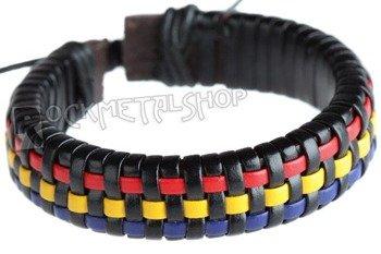 bransoletka BLACK RED BLUE