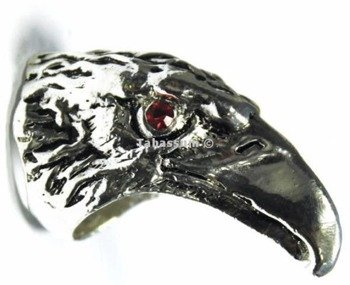 pierścień RED EAGLE'S EYES