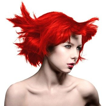 toner do włosów MANIC PANIC AMPLIFIED - PILLARBOX RED 118ml  5-6 tygodni na włosach