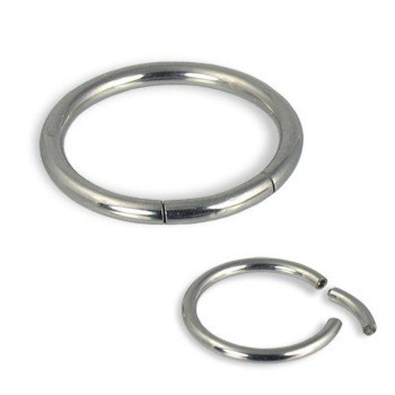 KÓŁKO ZAMYKANE PRĘTEM SEGMENT RING grubość 1,2mm (MBCS)