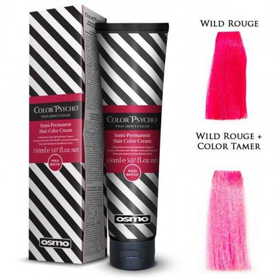 toner/krem do włosów OSMO COLOR PSYCHO - WILD ROUGE (01)