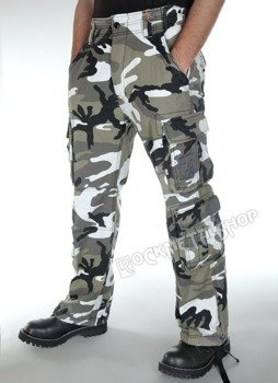 spodnie bojówki PURE VINTAGE urban