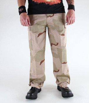spodnie bojówki US RANGER HOSE 3-col. desert