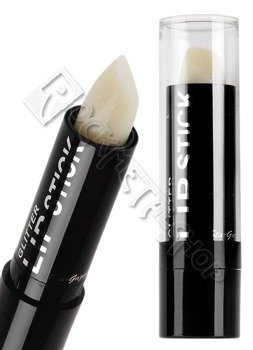 szminka z brokatem, BEZBARWNA/WHITE