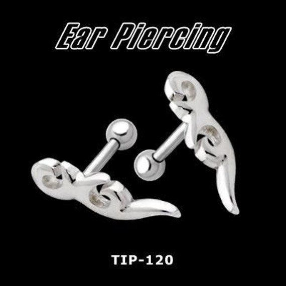 KOLCZYK PIERCING DO UCHA TRIBAL 4 [TIP-120]